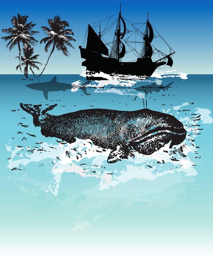пираты иллюстрация вектора