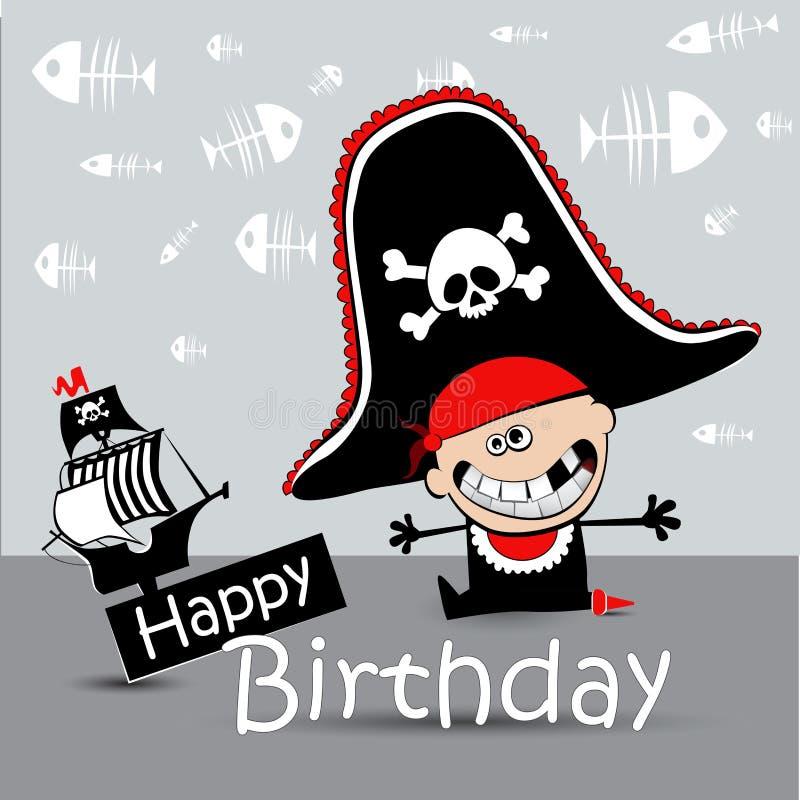 Поздравление пиратки с днем рождения