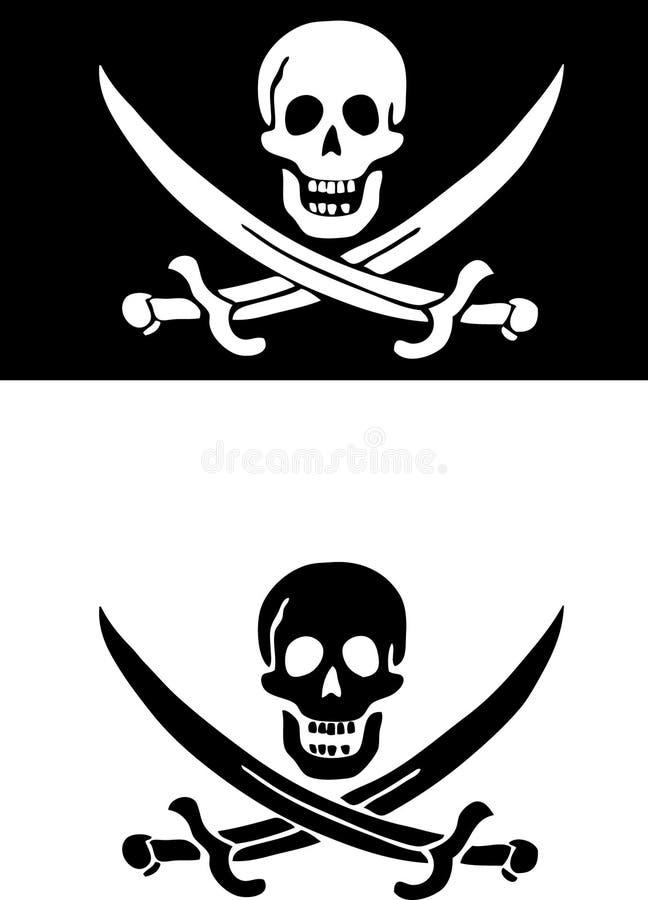 пират иллюстрация вектора