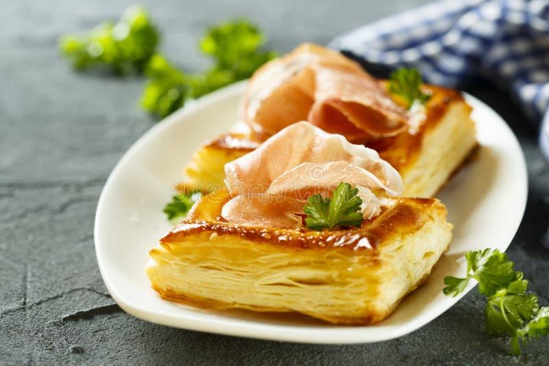 Пироги печенья слойки стоковая фотография rf