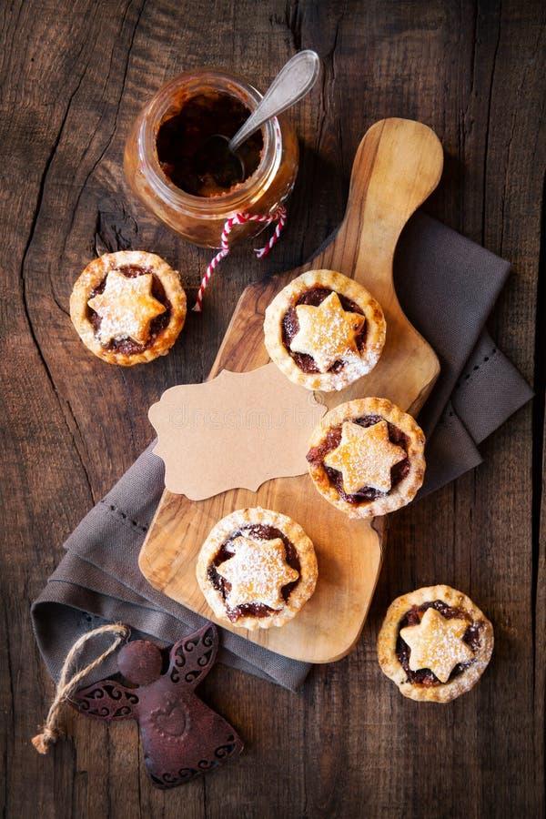 Пироги Mincemeat стоковая фотография