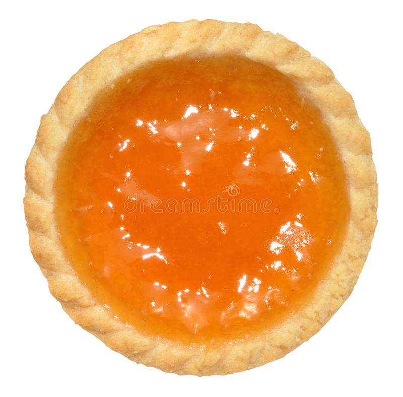 Пирог варенья абрикоса стоковые изображения rf