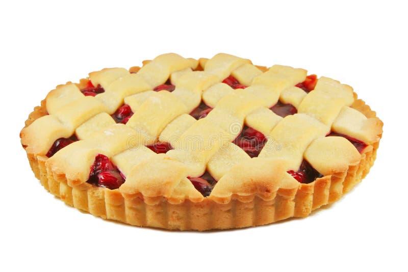 пирог вишни стоковые изображения
