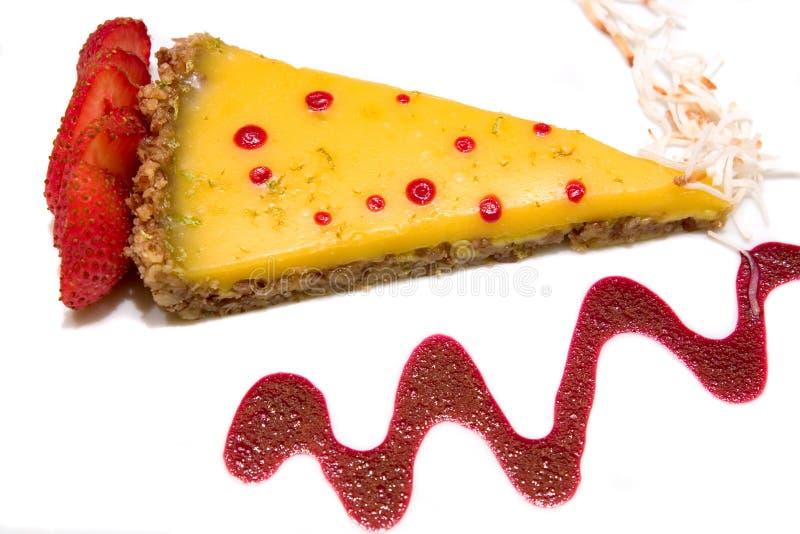 пирог кокоса торта стоковое фото rf