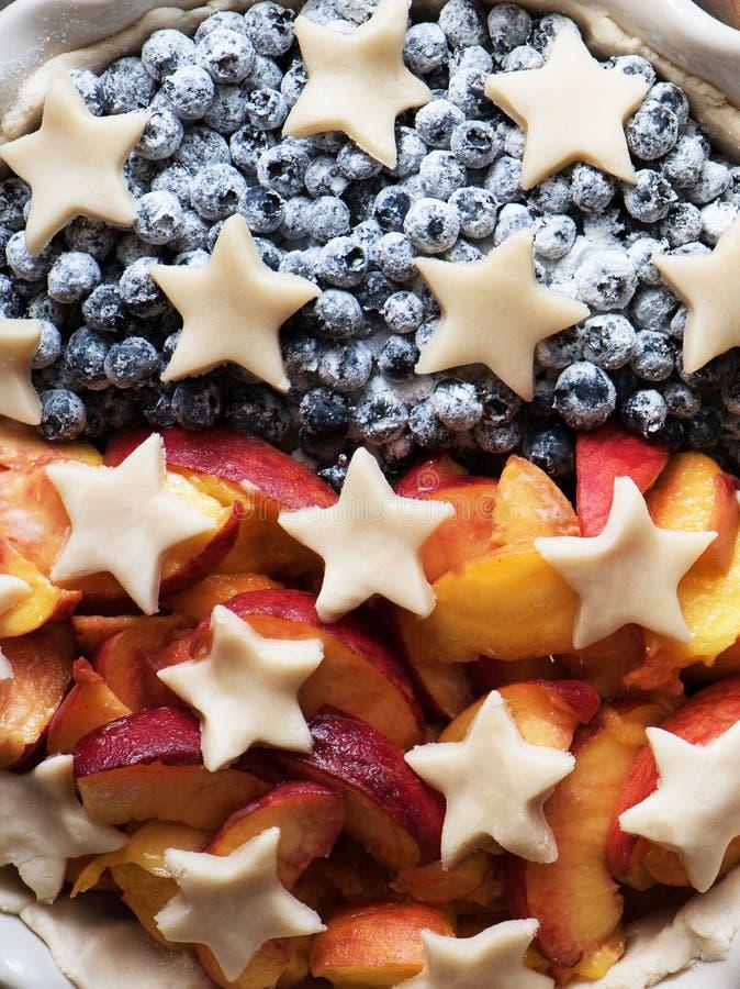 Пирог к Дню независимости ` s Америки Концепция дня ` s президента стоковое изображение rf