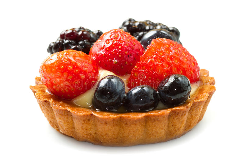 Пирог свежих фруктов стоковое фото