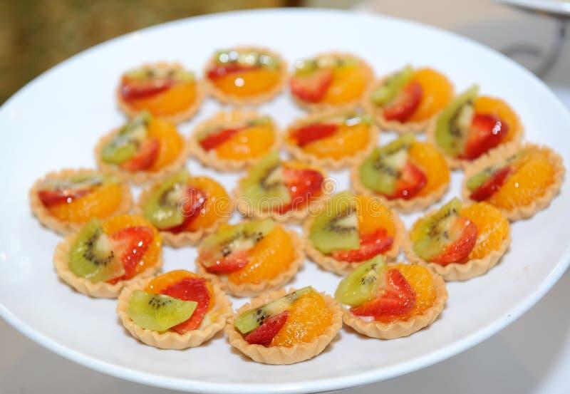 Пирог свежих фруктов стоковое фото rf
