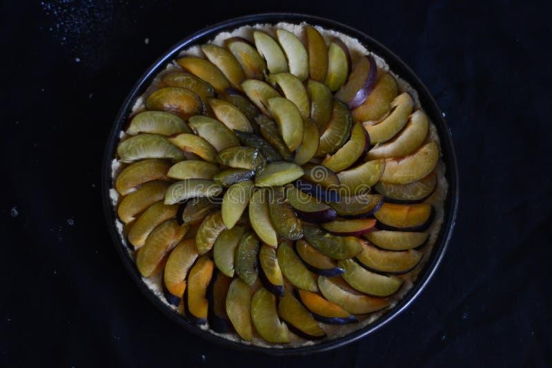 Пирог сливы стоковая фотография rf
