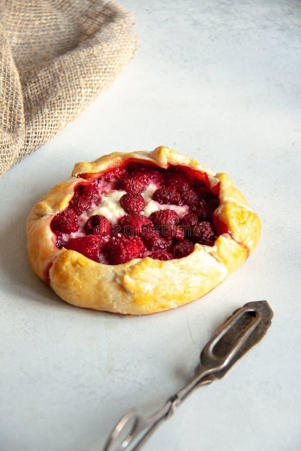 Пирог с творогом и поленикой стоковое изображение