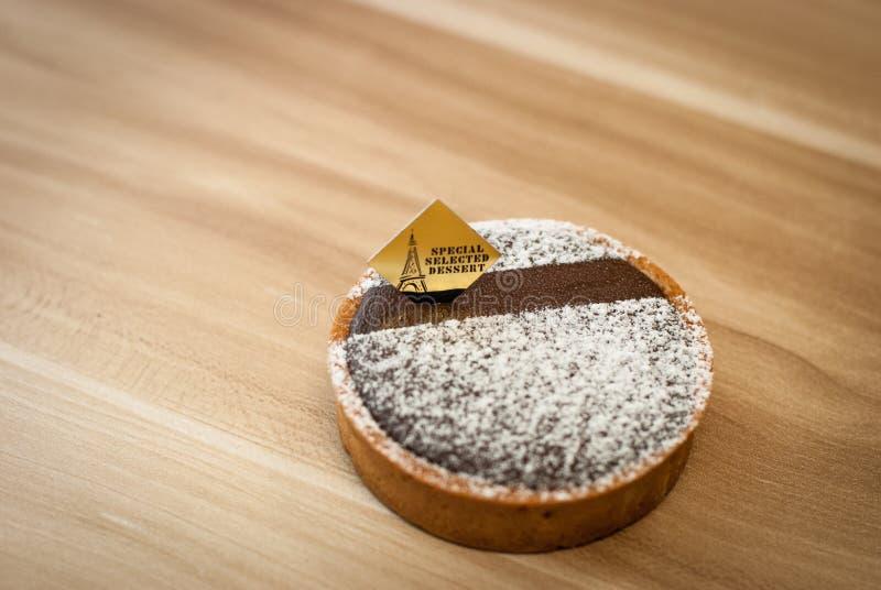 Пирог шоколада стоковое изображение