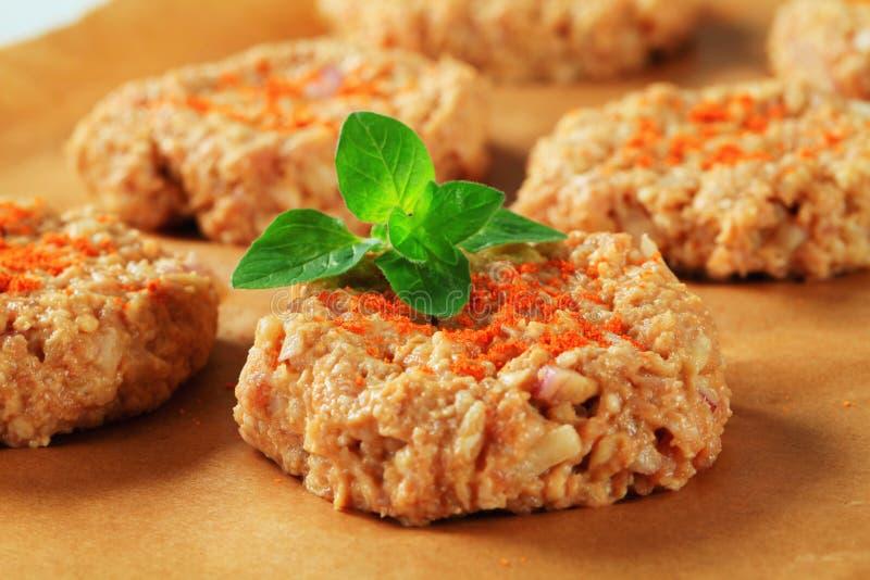 Пирожки сырцового овоща стоковые изображения