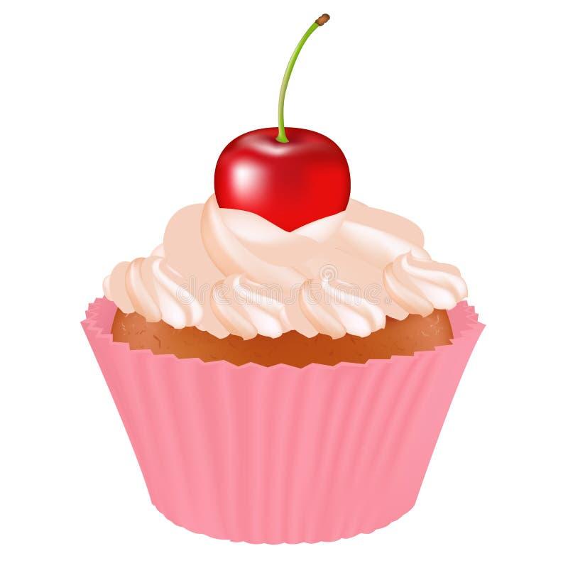 пирожне вишни Стоковые Изображения RF