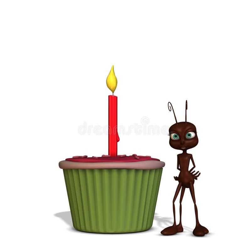 пирожне муравея бесплатная иллюстрация