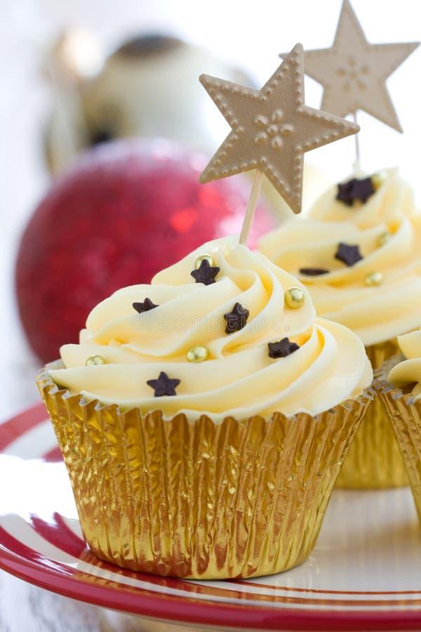 пирожне рождества стоковое фото