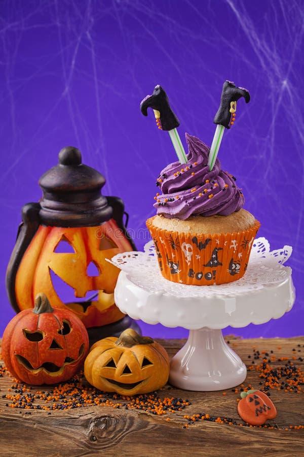 пирожне halloween стоковые изображения rf