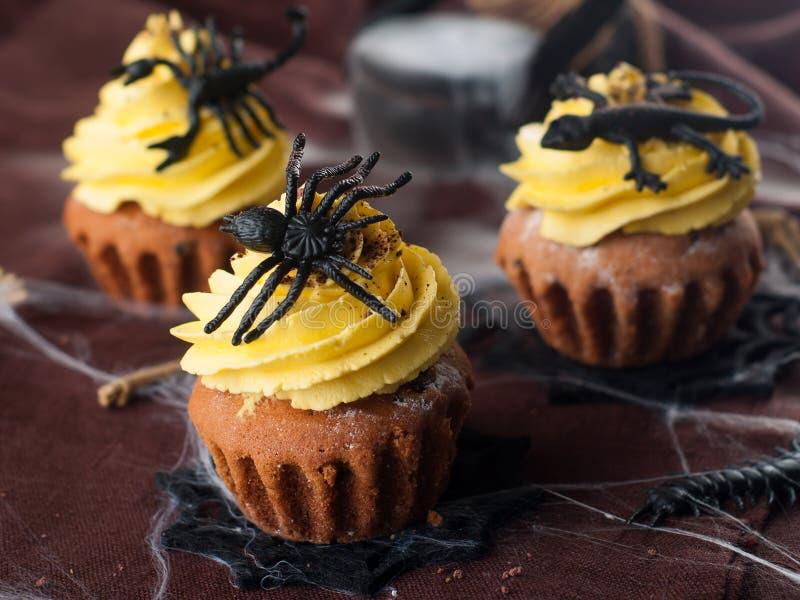 пирожне halloween стоковые фотографии rf