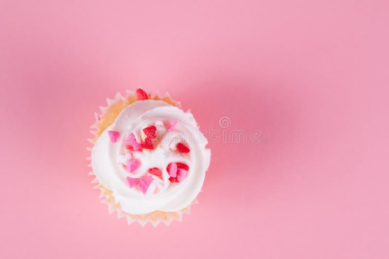 Пирожное валентинки стоковое фото