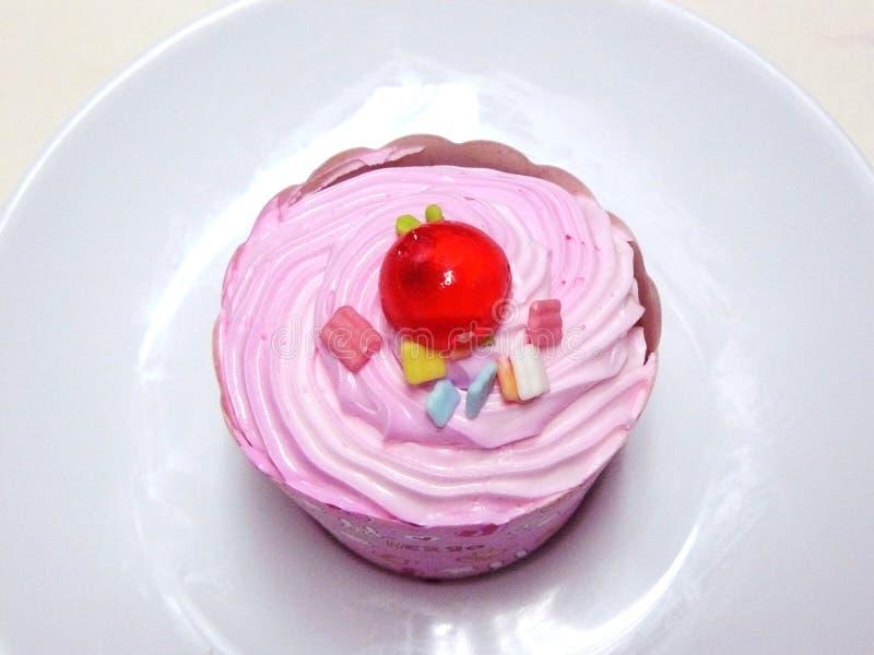 Пирожное принцессы Розов стоковое фото rf