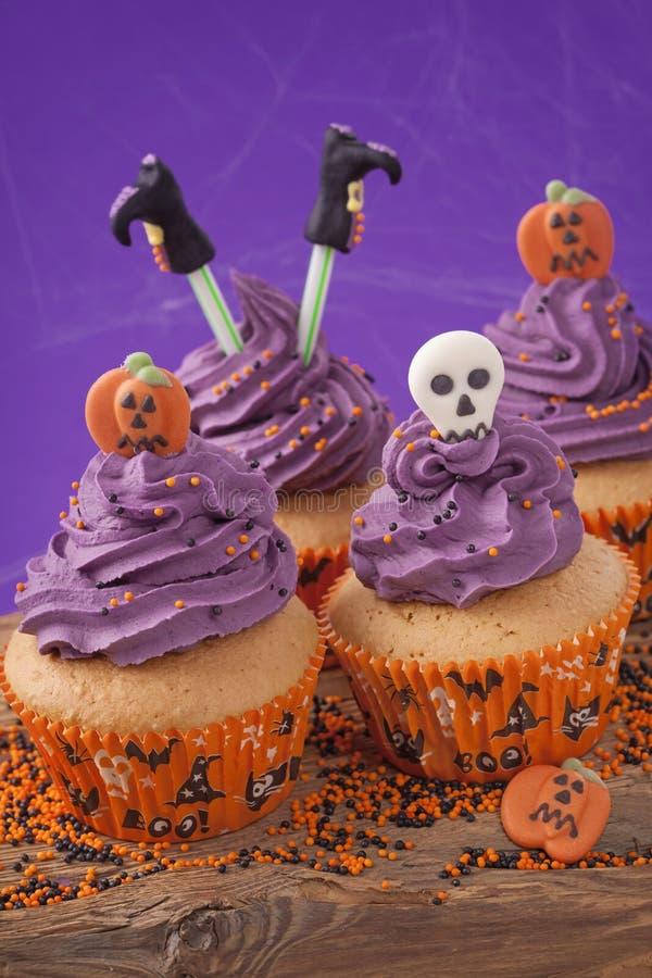 Пирожное хеллоуина стоковое фото