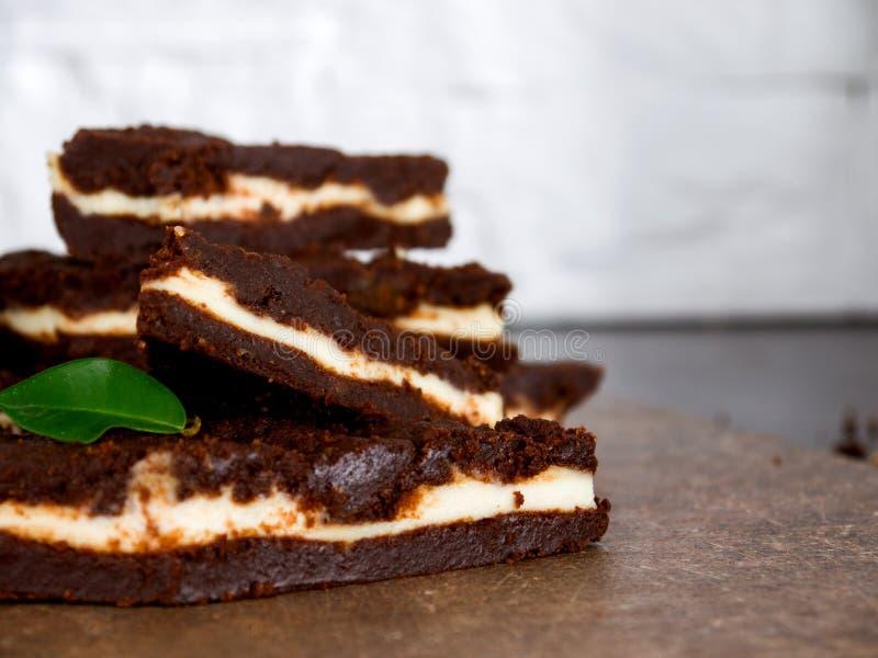 пирожное шоколада десерта стоковые изображения rf