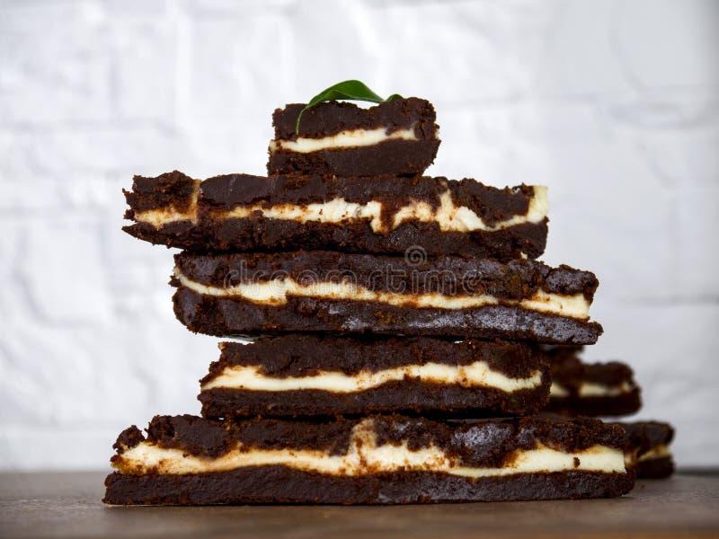 пирожное шоколада десерта стоковая фотография
