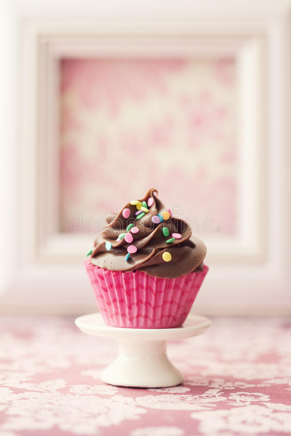 Пирожное шоколада стоковая фотография rf