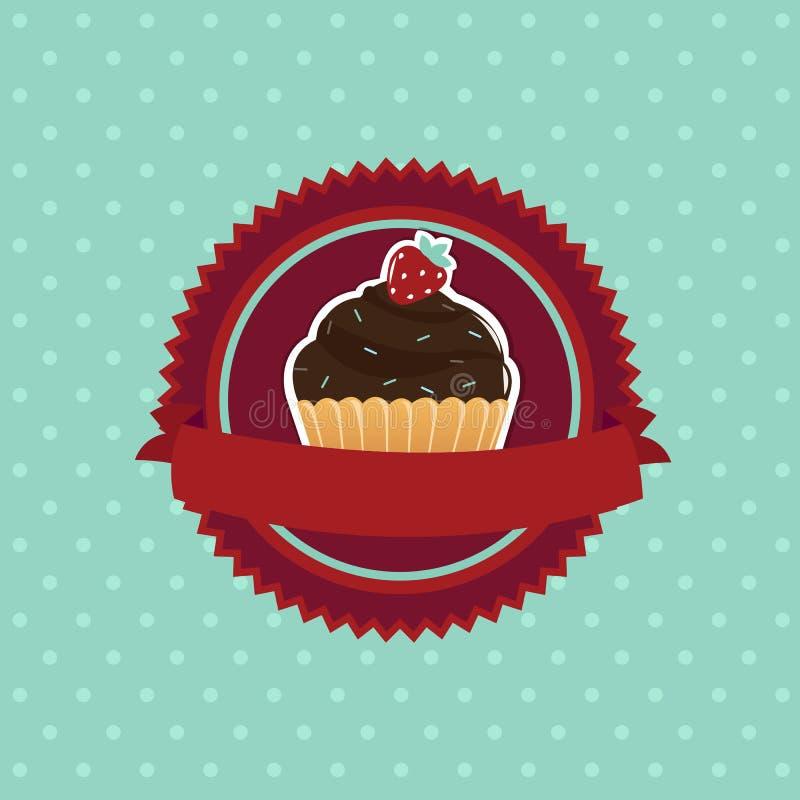 Пирожное иллюстрация штока