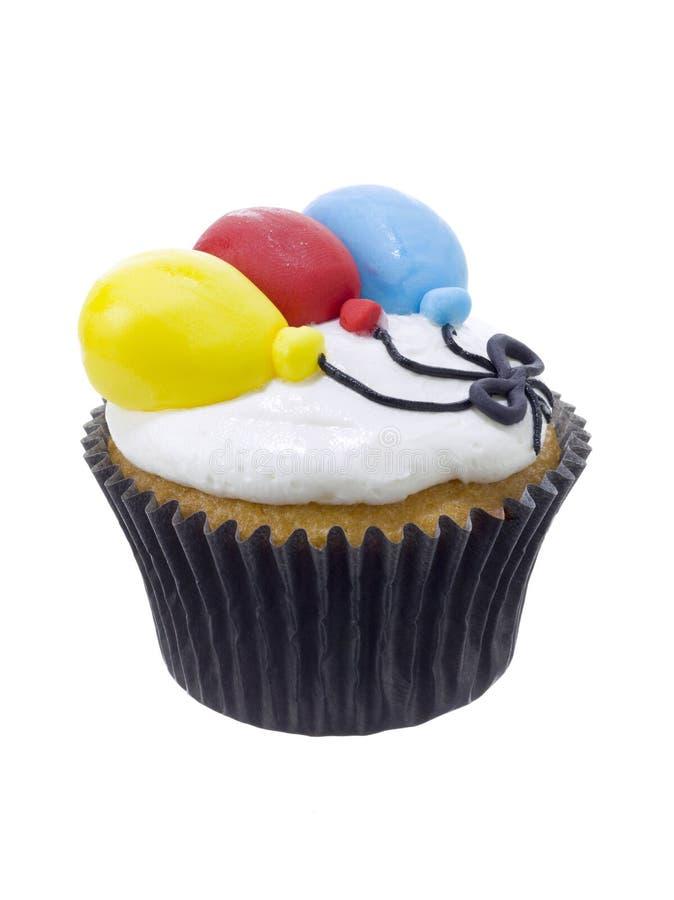 Пирожное mocha дня рождения стоковое фото