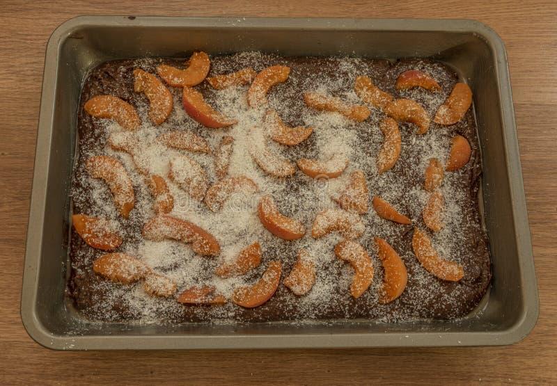 Пирожные марихуаны абрикоса кокоса испеченные в печи стоковые изображения rf