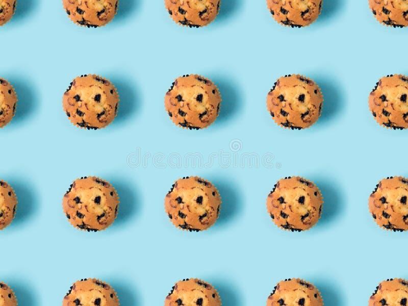 Пирожные с изюминками стоковые изображения rf