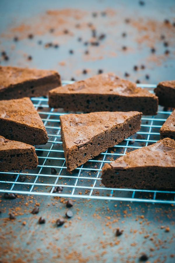 Пирожные шоколада стоковая фотография