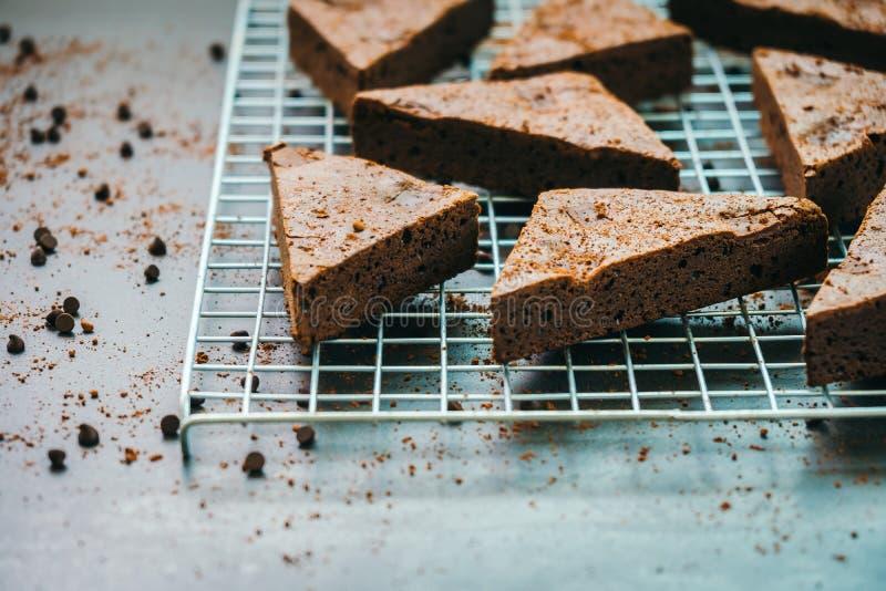 Пирожные шоколада стоковое изображение rf