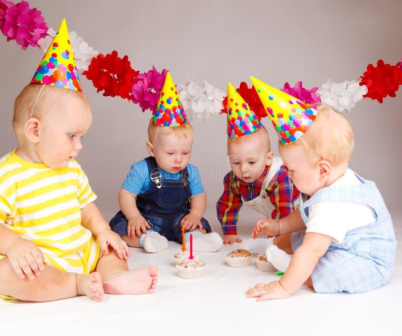 пирожня младенцев стоковое фото rf