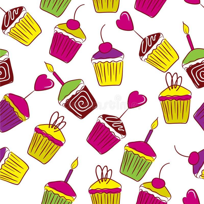 пирожня яркие бесплатная иллюстрация