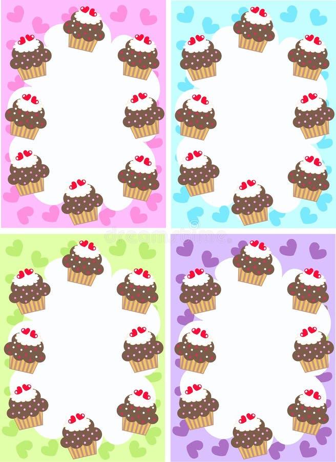 пирожня иллюстрация вектора