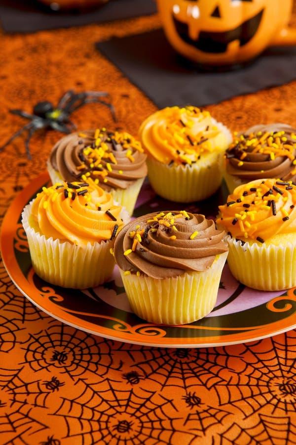 пирожня halloween стоковые изображения rf