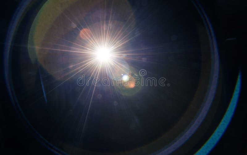 Пирофакел объектива стоковая фотография rf