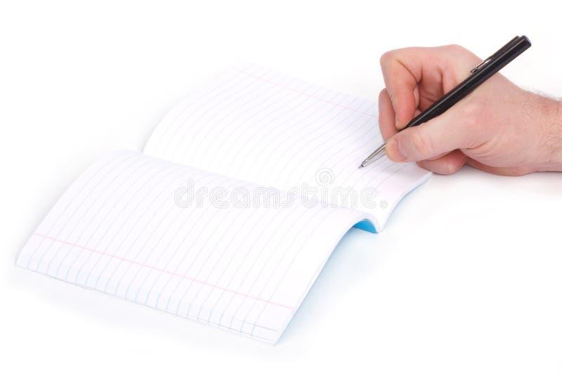 Писание стоковое изображение