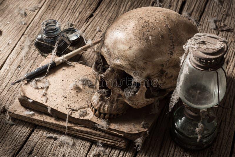 Писатель смерти стоковая фотография rf