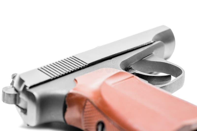 Пистолет газа на белой предпосылке стоковые фотографии rf