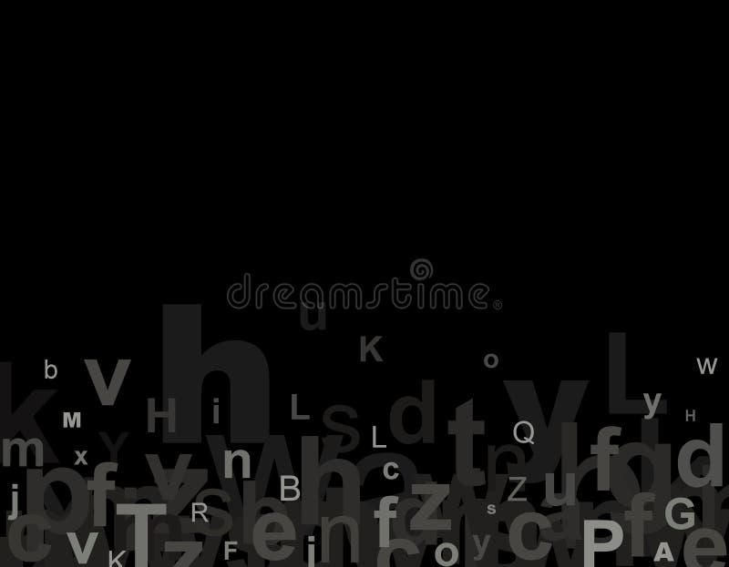 письма алфавита иллюстрация вектора
