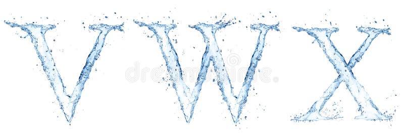 Письма воды бесплатная иллюстрация