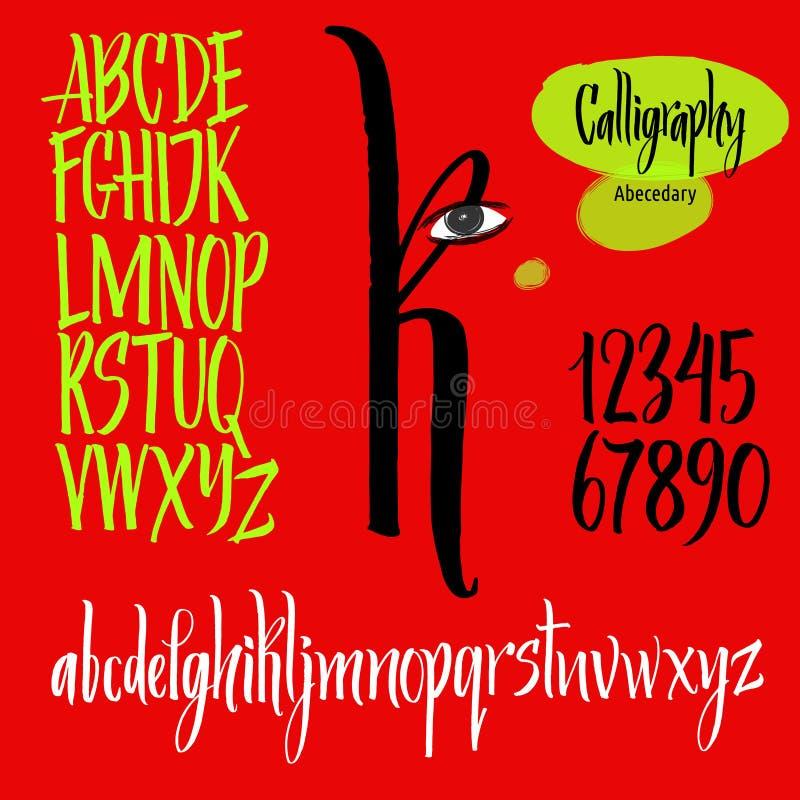 письма мелка доски алфавита бесплатная иллюстрация