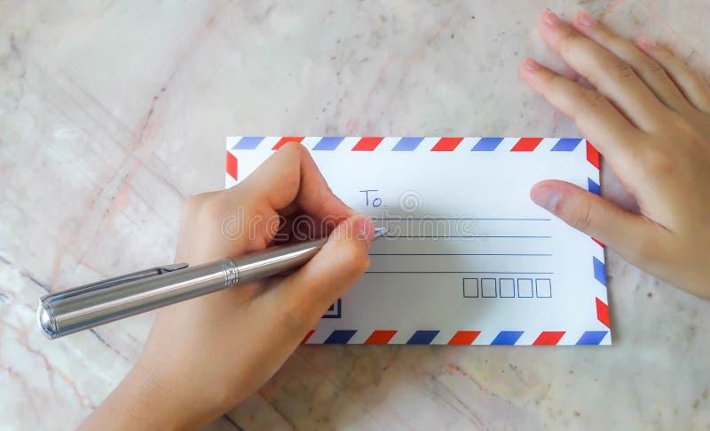 Письмо к стоковые фото