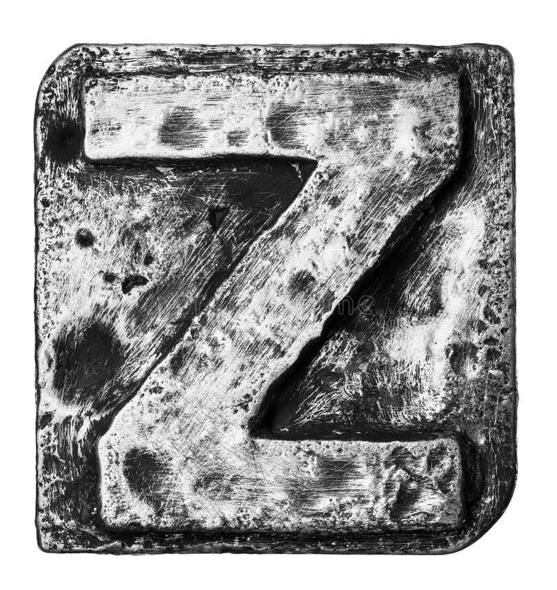 Письмо металла стоковые фото