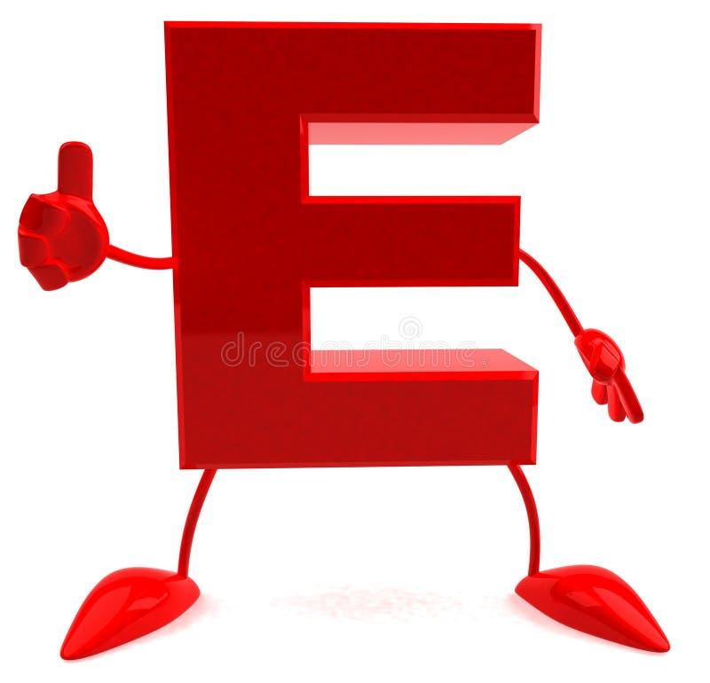 письмо e бесплатная иллюстрация