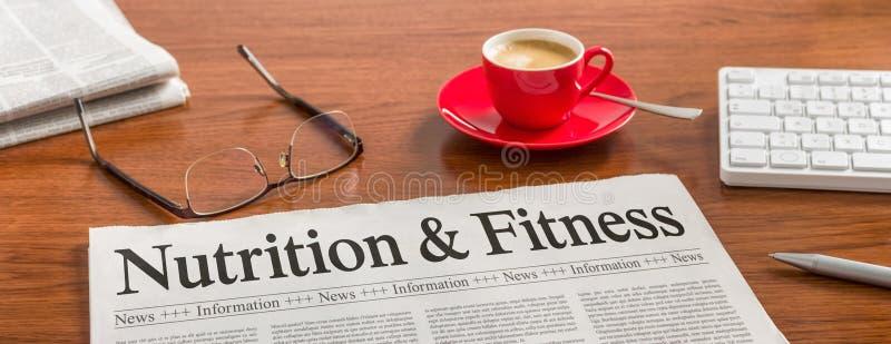 Питание и фитнес стоковая фотография rf