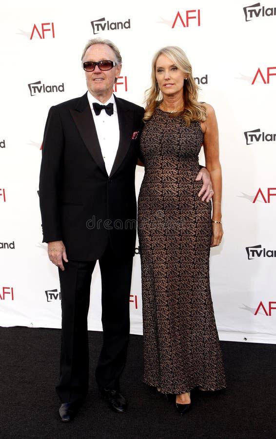 Питер Fonda и Parky Fonda стоковые изображения rf