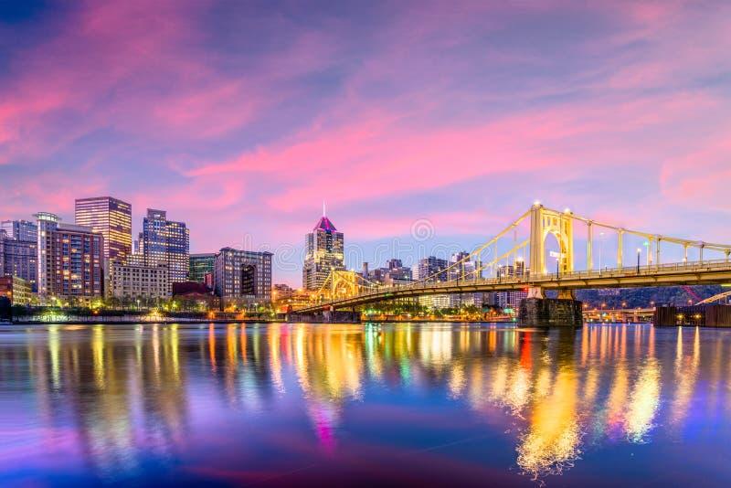Питтсбург, Пенсильвания, США стоковые фото