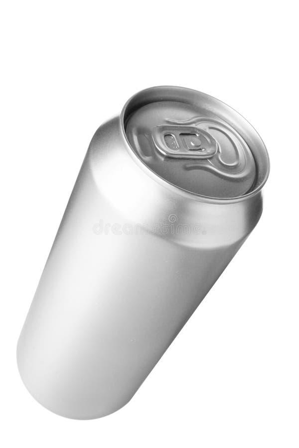 питье алюминиевой чонсервной банкы стоковое изображение